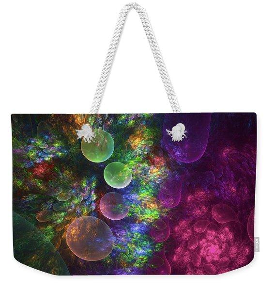 Deep Sea Flora I Weekender Tote Bag