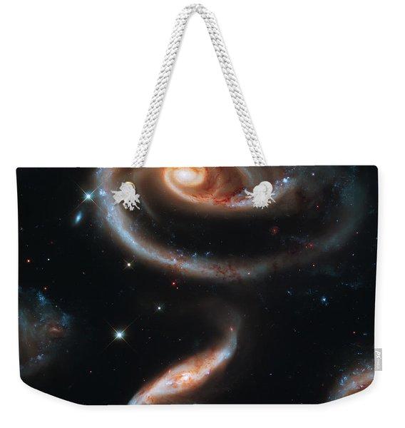 Deep Space Galaxy Weekender Tote Bag