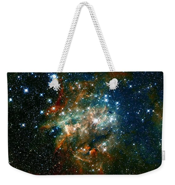 Deep Space Star Cluster Weekender Tote Bag