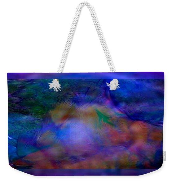 Deep Waters Weekender Tote Bag