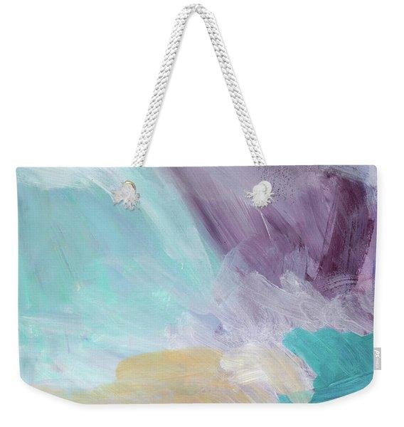 Deepest Breath- Abstract Art By Linda Woods Weekender Tote Bag