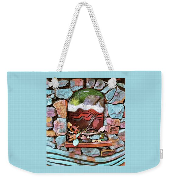 Deer Creek Altar Weekender Tote Bag