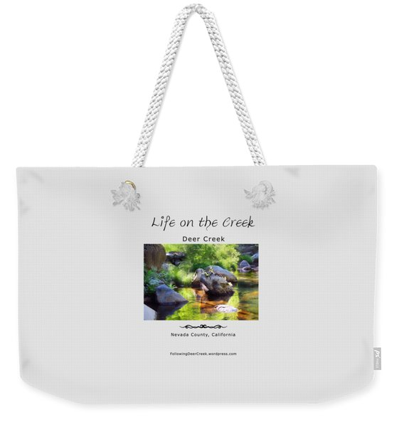 Deer Creek Ferns Weekender Tote Bag