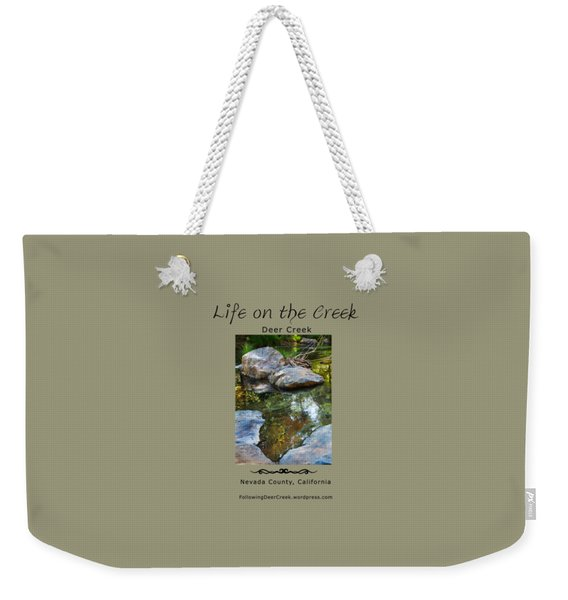 Deer Creek Point Weekender Tote Bag