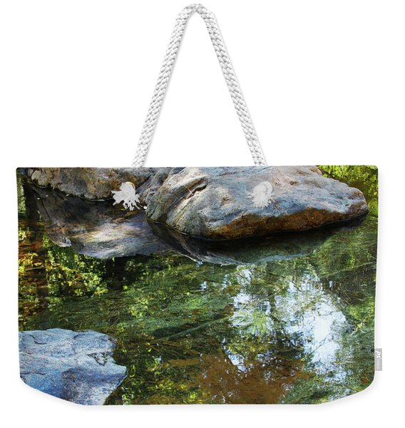 Deer Creek Point Print Weekender Tote Bag