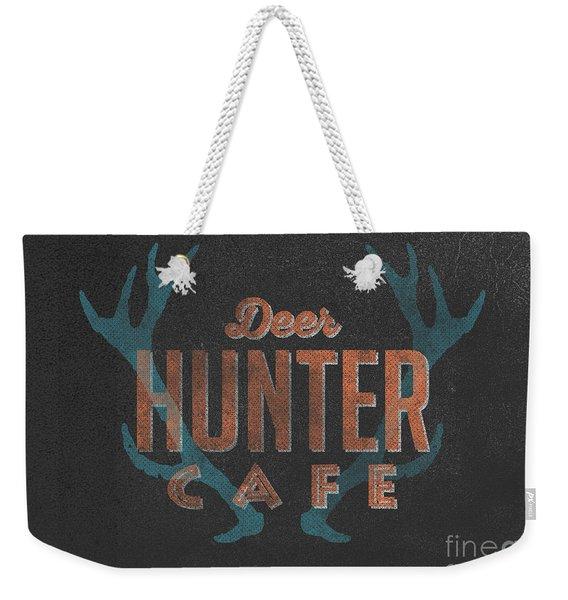 Deer Hunter Cafe Weekender Tote Bag
