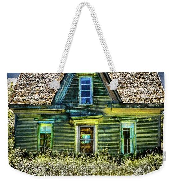 Deer Isle Haunted House Weekender Tote Bag