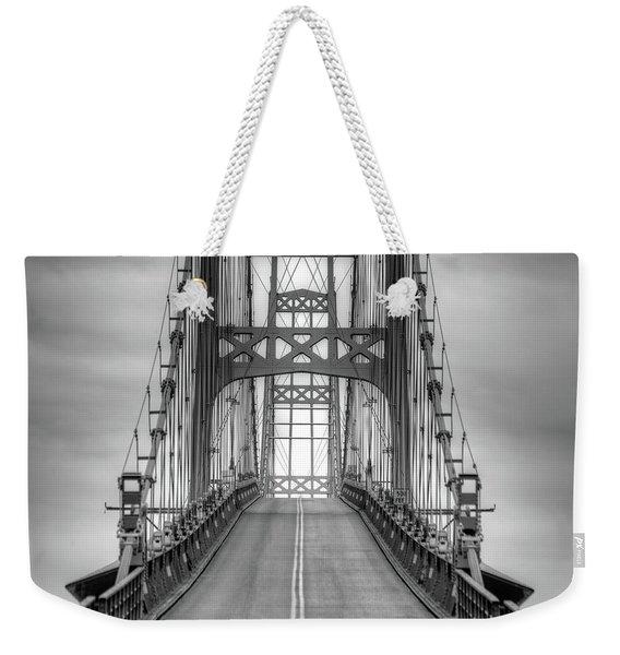 Deer Isle Sedgwick Bridge Weekender Tote Bag