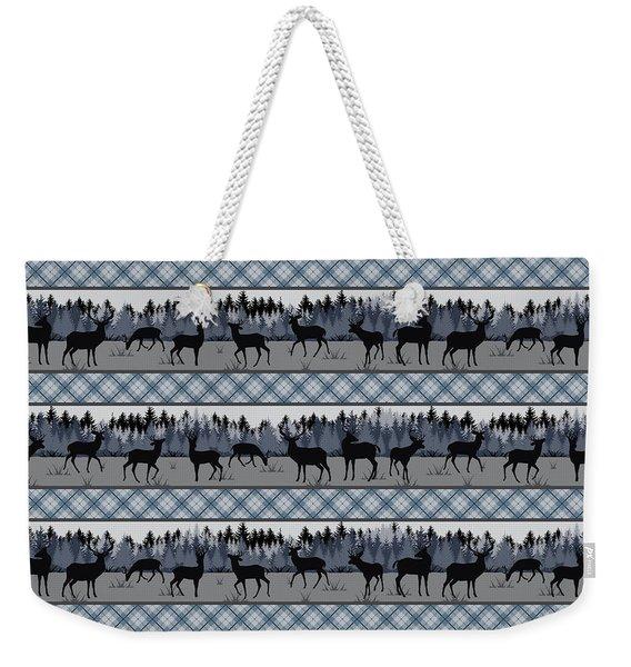 Deer Trail Lodge-b Weekender Tote Bag