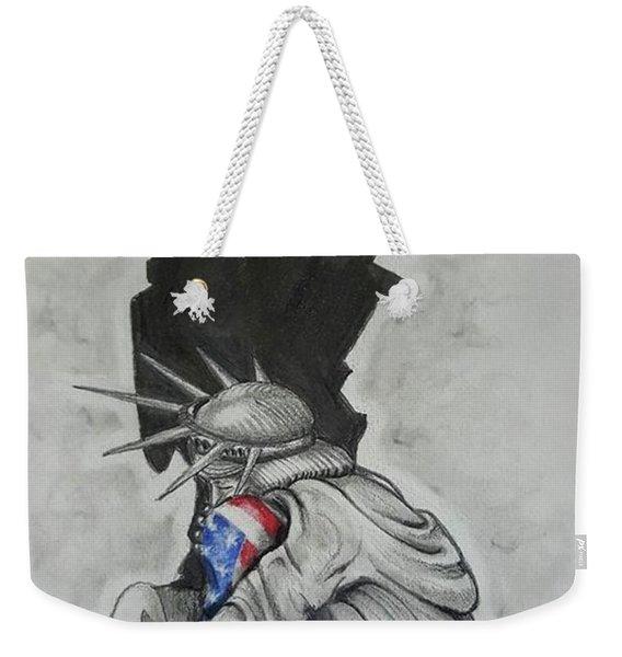 Defending Liberty Weekender Tote Bag