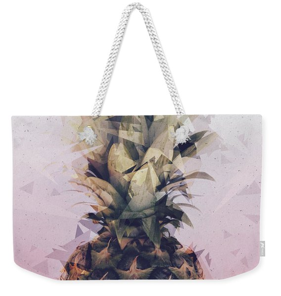Defragmented Pineapple Weekender Tote Bag