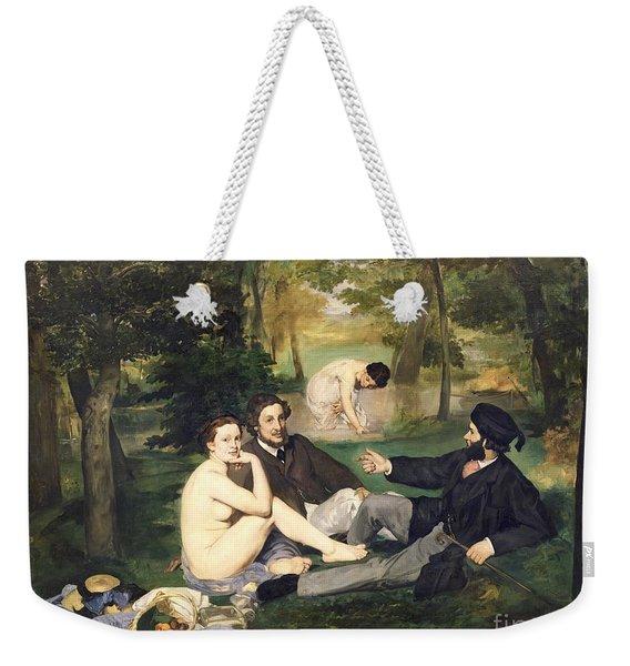 Dejeuner Sur L Herbe Weekender Tote Bag