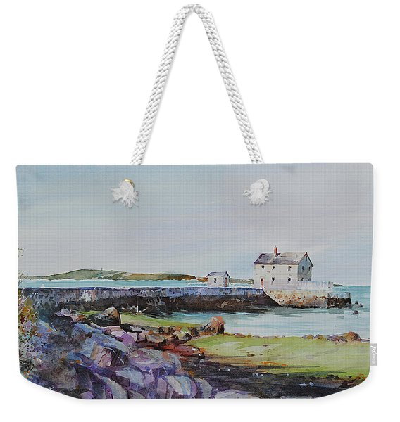 Delano's Wharf At Rock Nook Weekender Tote Bag