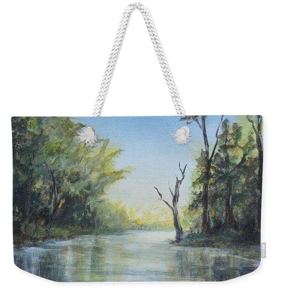 Delaware River  Weekender Tote Bag