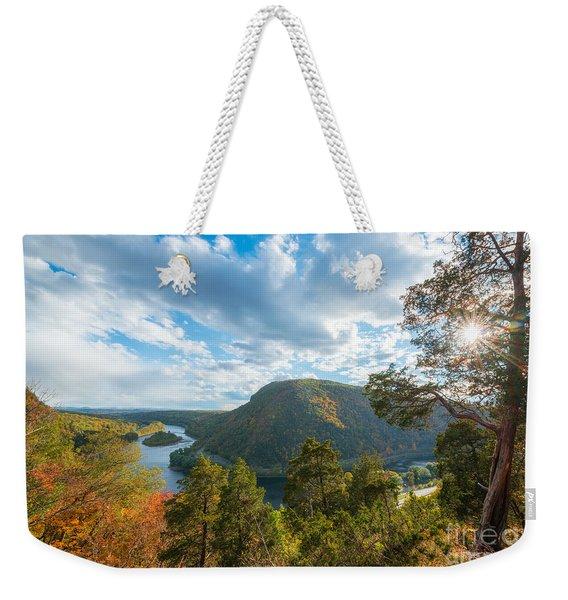 Delaware Water Gap In Autumn Weekender Tote Bag