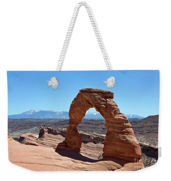 Delicate Arch Arches National Park Weekender Tote Bag