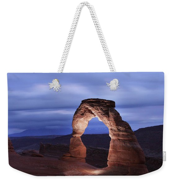 Delicate Arch At Twilight Weekender Tote Bag