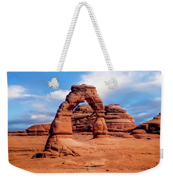 Delicate Arch From Lower Viewpoint Weekender Tote Bag