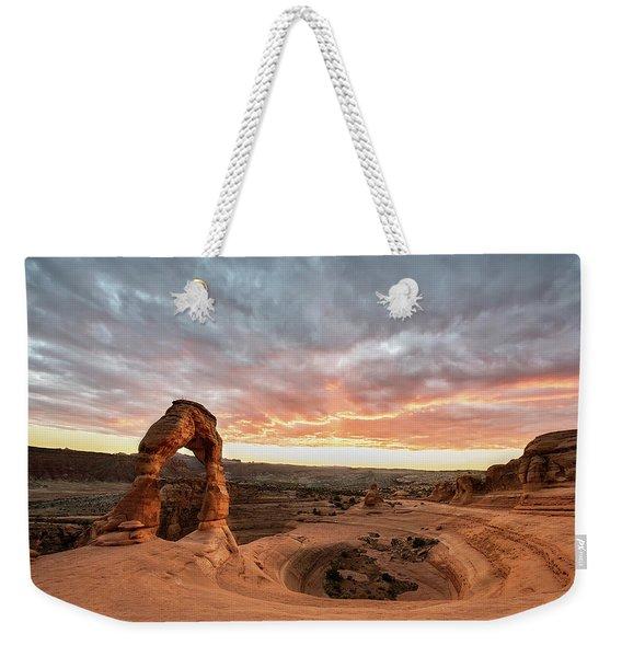 Delicate At Sunset Weekender Tote Bag