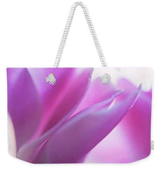 Delicate Beauty Of Cyclamen Flower Weekender Tote Bag