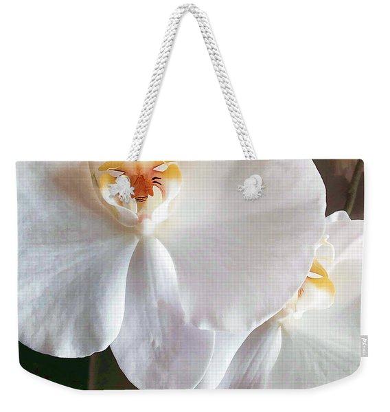 Delicate Bloom Weekender Tote Bag