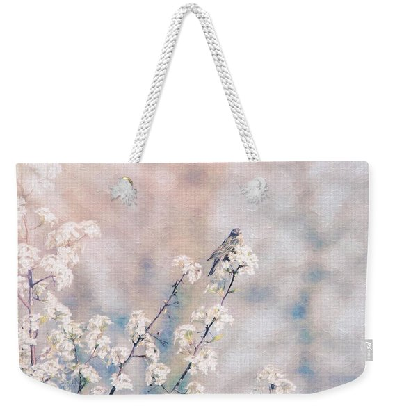 Delicate Delight Weekender Tote Bag