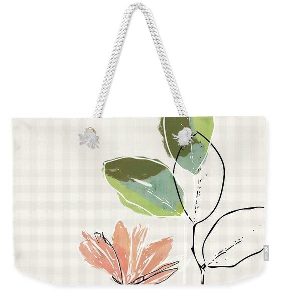 Delicate Flower- Art By Linda Woods Weekender Tote Bag