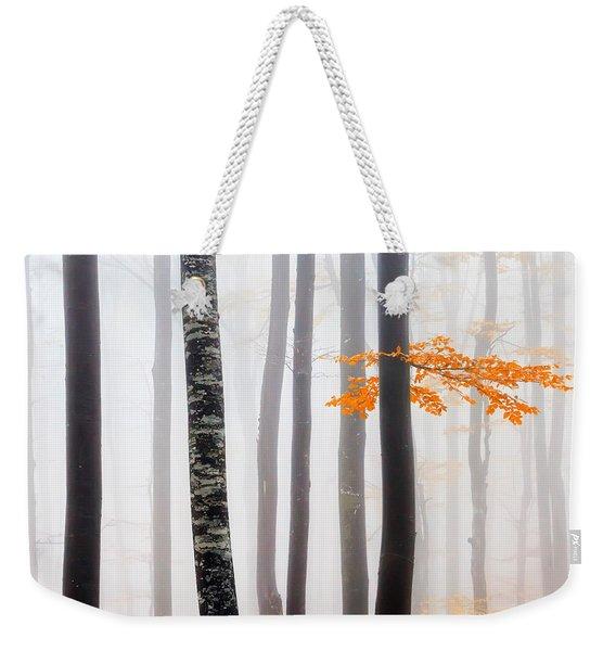 Delicate Forest Weekender Tote Bag