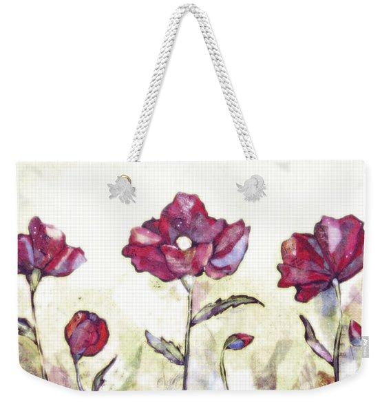 Delicate Poppy I Weekender Tote Bag