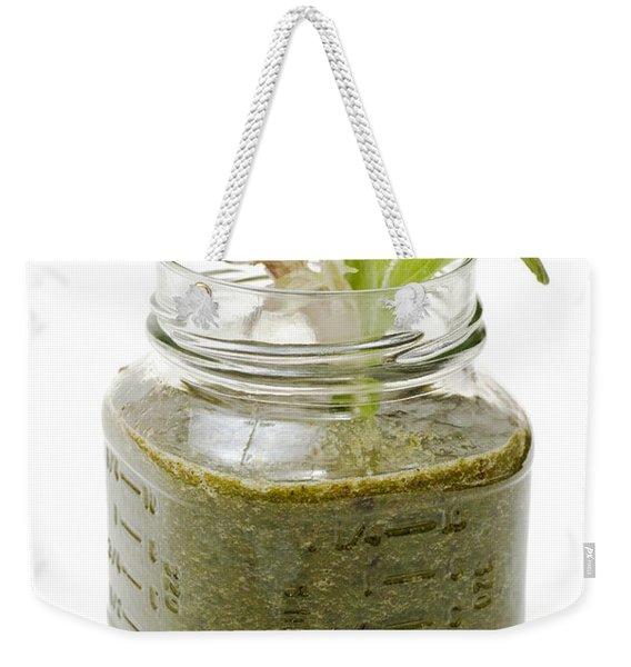 Delicious Kale Smoothie Weekender Tote Bag