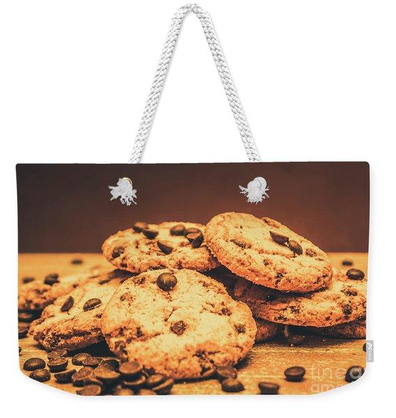 Delicious Sweet Baked Biscuits  Weekender Tote Bag