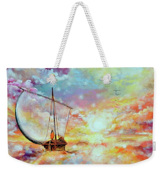 Deliver Us From Delusion Weekender Tote Bag