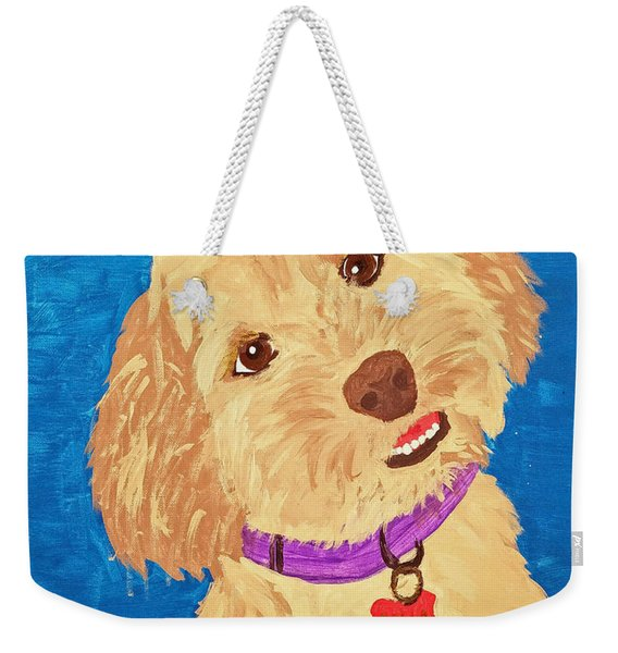 Della Date With Paint Nov 20th Weekender Tote Bag
