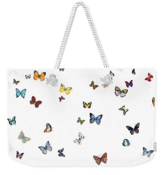 Delphine Weekender Tote Bag