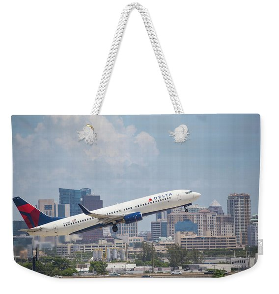 Delta Airlines Weekender Tote Bag