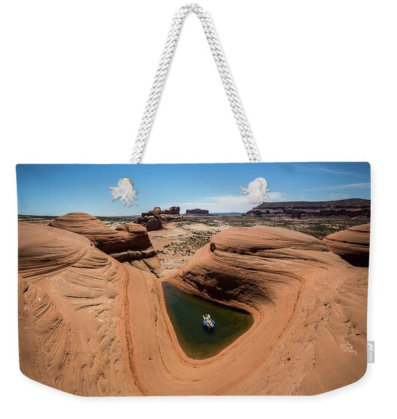 Delta Pool 2 Weekender Tote Bag