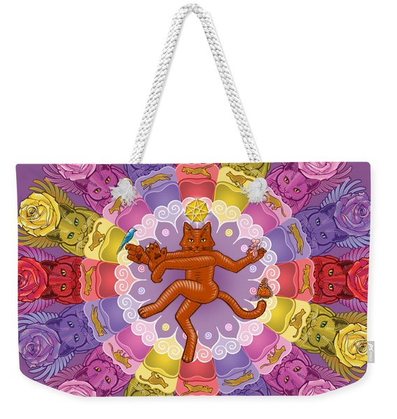 Deluxe Tribute To Tuko Weekender Tote Bag