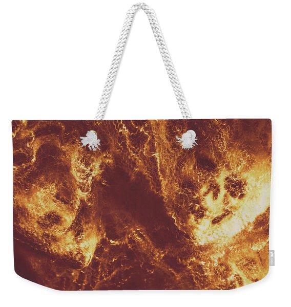 Demon Hellish Nightmare Weekender Tote Bag