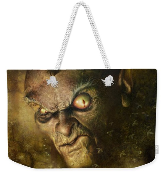 Demonic Evocation Weekender Tote Bag