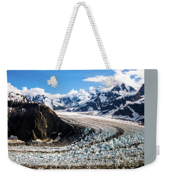 Weekender Tote Bag featuring the photograph Denali by Benny Marty