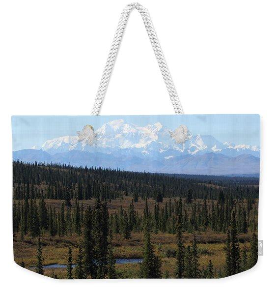 Denali From The Denali Highway Weekender Tote Bag