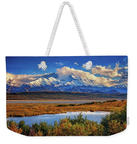 Denali, The High One Weekender Tote Bag