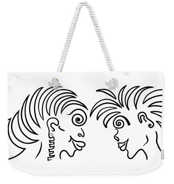 Dennis Weekender Tote Bag