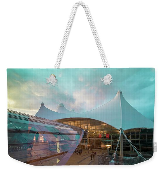Denver International Airport Weekender Tote Bag