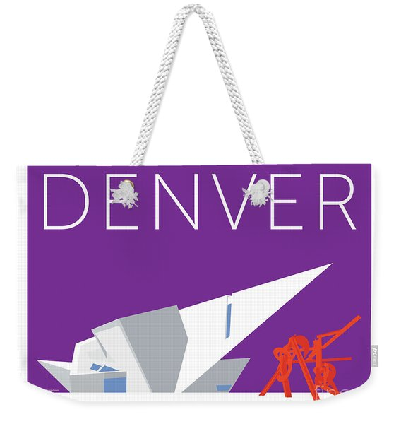 Denver Art Museum/purple Weekender Tote Bag