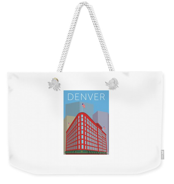 Denver Brown Palace/blue Weekender Tote Bag