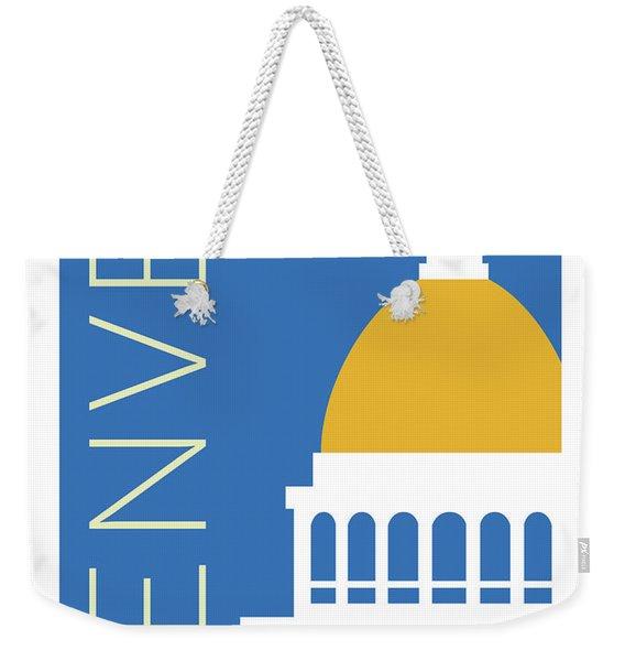 Denver Capitol/blue Weekender Tote Bag