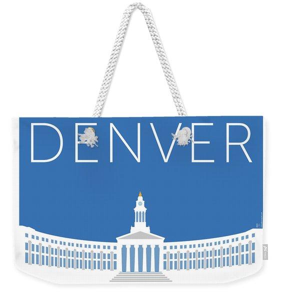 Denver City And County Bldg/blue Weekender Tote Bag
