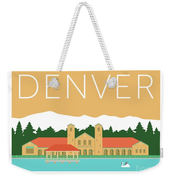 Denver City Park/adobe Weekender Tote Bag