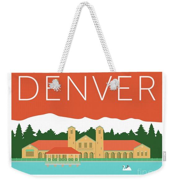 Denver City Park/coral Weekender Tote Bag